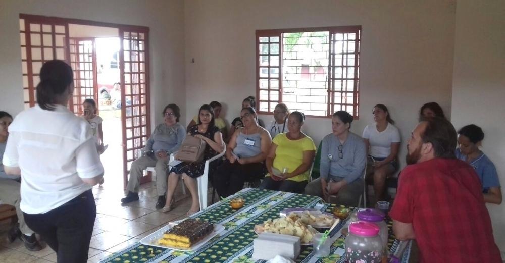 Mulheres de Tamarana participam de evento especial no Oito de Março