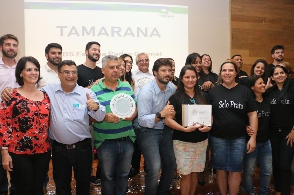 Unidade de saúde de Tamarana é uma das três da região certificadas com selo prata de qualidade