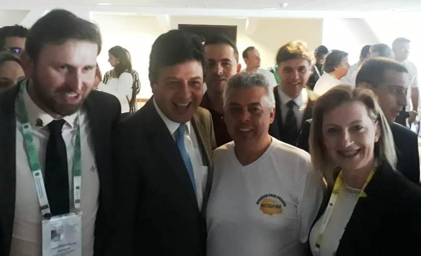 Prefeito representa Tamarana e região em congresso nacional de saúde