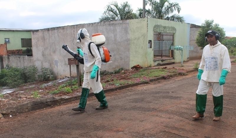 Três pessoas estão com dengue em Tamarana; Saúde redobra ações para combater doença