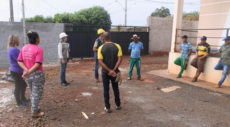 Campanha orienta trabalhadores de canteiros de obras para prevenção contra acidentes