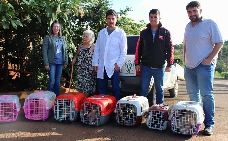 Castração fornecida pela prefeitura já atendeu 21 cachorras de Tamarana