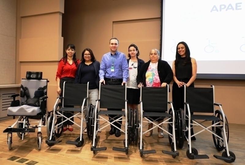 Apae de Tamarana conquista segundo lugar em votação e recebe cinco cadeiras de rodas