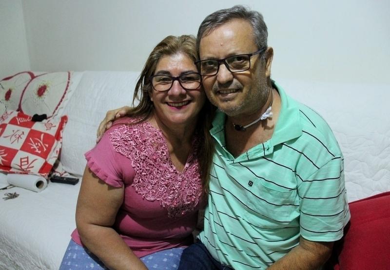Depois de quase um mês no HU, Zezinho está em casa