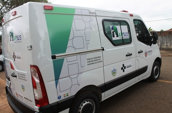 Tamarana tem nova ambulância para o transporte de urgência