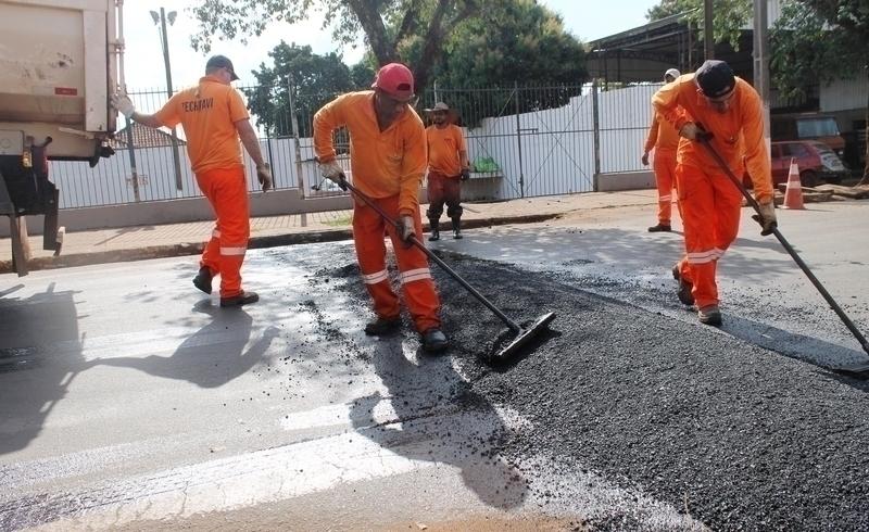 Tamarana recebe mais de R$ 300 mil em obras asfálticas