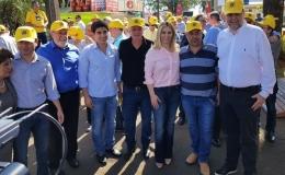 Prefeito encontra nova governadora do Paraná