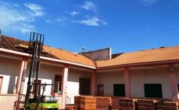 Troca de telhado adia volta às aulas na Iracema Torres Rochedo para quarta-feira (31)