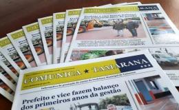 Prefeitura de Tamarana presta contas à população por meio de informativo