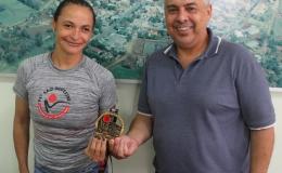 Prefeito parabeniza tamaranense que emagreceu mais de 30 quilos e correu na São Silvestre