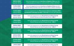 Auxílio emergencial federal: tamaranenses precisam ficar atentos a calendário para evitar filas