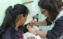 Vacinação contra pólio e sarampo é prorrogada até 14 de setembro