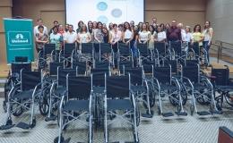 Saúde de Tamarana ganha novas cadeiras de rodas através de campanha solidária