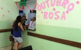 Saúde já realizou mais de 600 atendimentos no Outubro Rosa