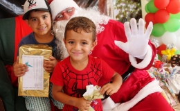 Natal de crianças de Tamarana é marcado pela solidariedade