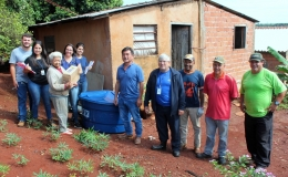 Famílias de baixa renda de Tamarana recebem caixas d'água
