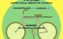 Ciclistas já podem se inscrever em pedalada de Tamarana