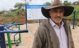 Academia ao ar livre ajuda Vila Siena a driblar o sedentarismo