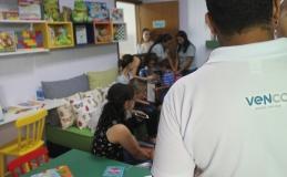 Crianças da Casa Lar de Tamarana ganham brinquedoteca