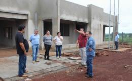 Construção de novo CMEI em Tamarana está em ritmo acelerado