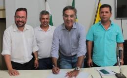 Estado e município firmam acordos para ampliação de pontes de Tamarana