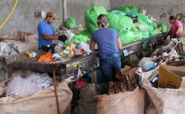 Reciclagem de resíduos em Tamarana é quase o dobro da média nacional