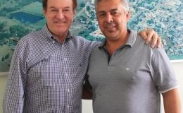 Prefeito se reúne com deputado federal Nelson Padovani