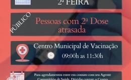 VACINA COVID-19 - 2ª DOSE