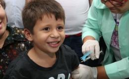 Vacinação contra pólio e sarampo terminará nesta sexta-feira (14)